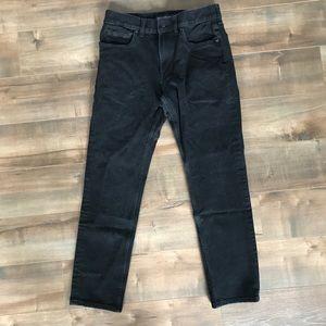 Men's Everlane uniform black jeans - the slim jean